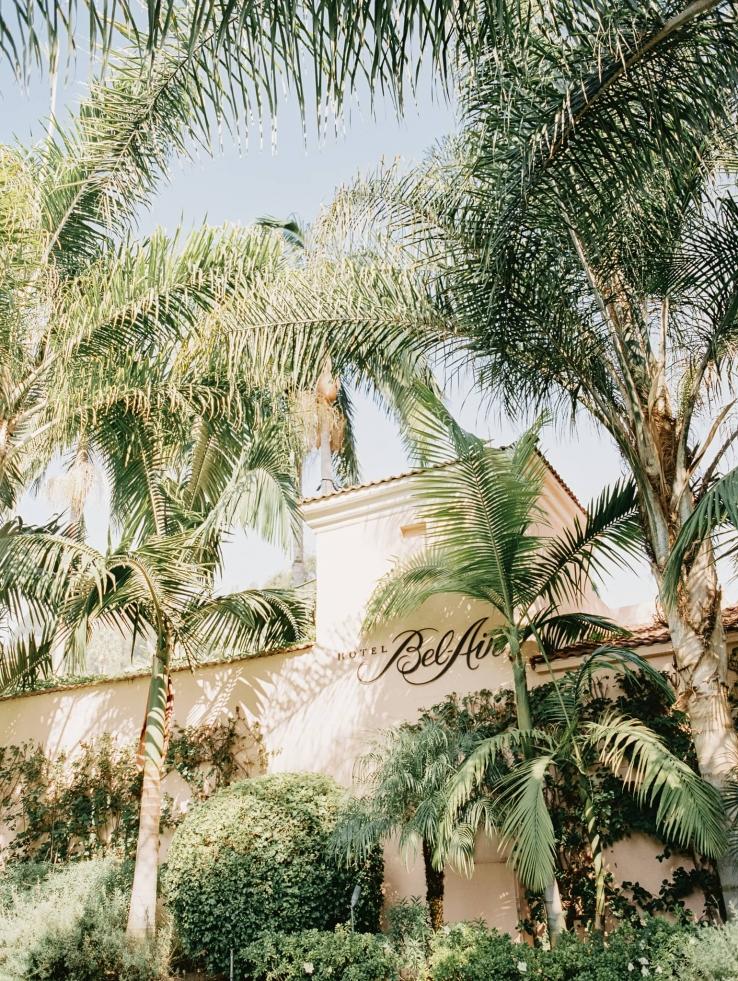 Hotel Bel-Air,  Beverly Hills. LA Wedding